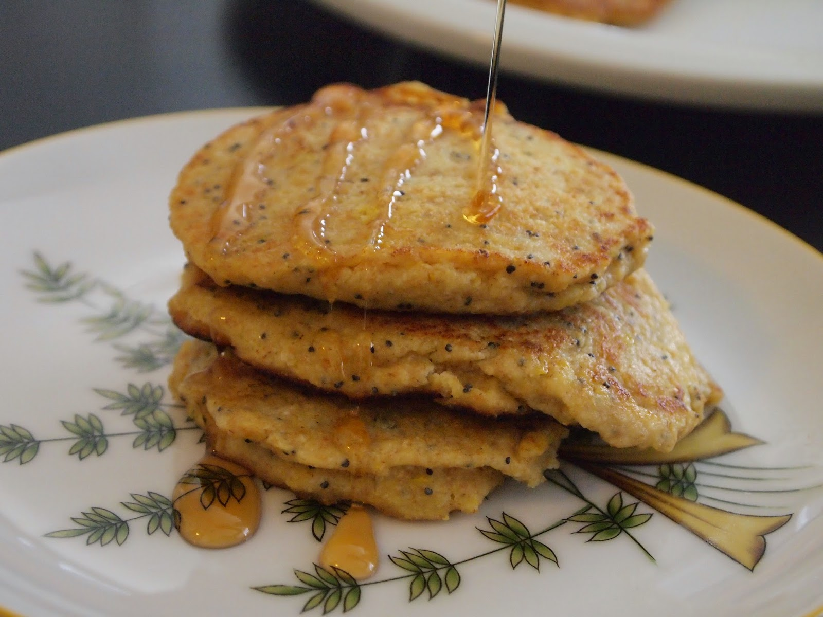 Lemon Ricotta Poppy Seed Pancakes Recipe — Dishmaps