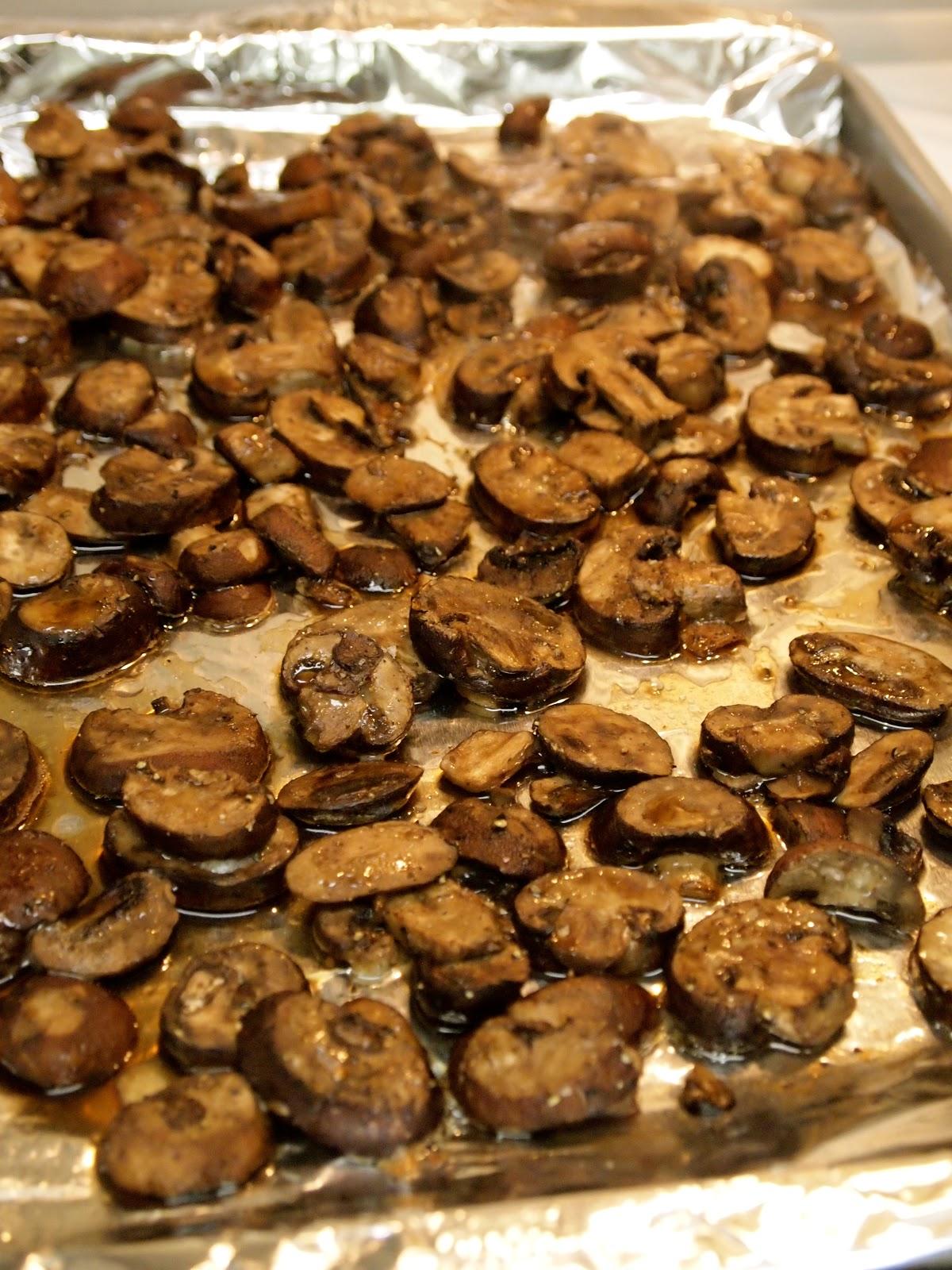 Whiskey and Roasted Mushroom Pasta - Lake Shore Lady