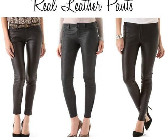 Loving Leather Pants