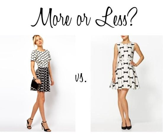 More or Less? {Bows}