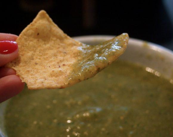 Taco Week: Tomatillo Salsa