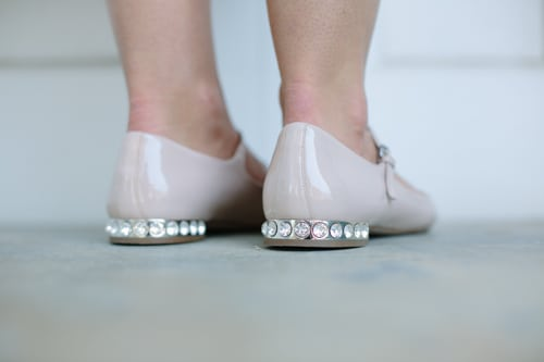 More or Less? Embellished Flats