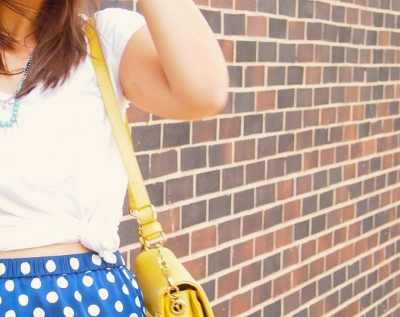 Tie It Up with Polka Dots