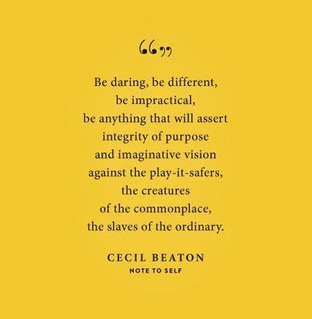 Be Daring.