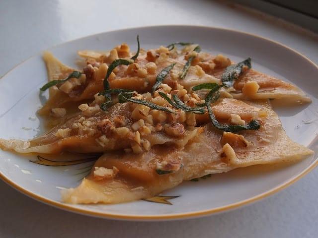 pumpkin-ravioli-butter-sage-walnut