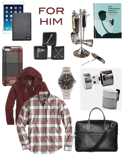 Gift Guide For Him - Lake Shore Lady