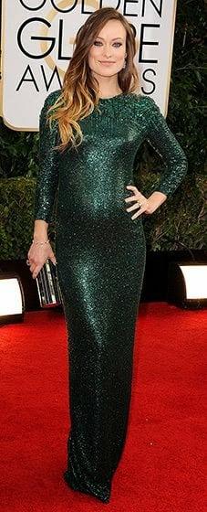 Olivia Wilde - Golden Globes - 2014