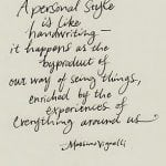 Like Handwriting…