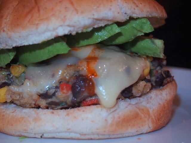 Quinoa Veggie Burger - Lake Shore Lady