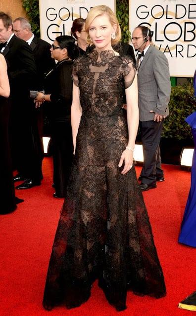 Cate Blanchett - Golden Globes - 2014