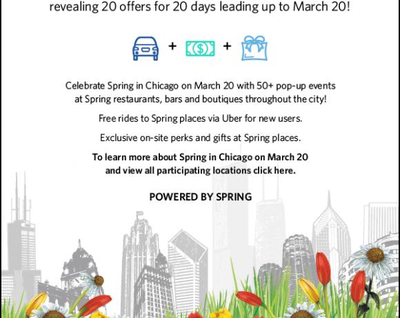 Spring Rewards #springinchi