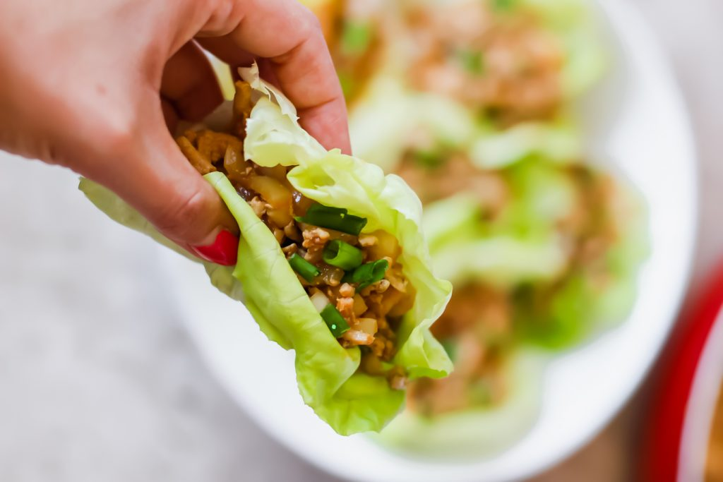 Have you ever tried ground turkey lettuce wraps?