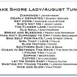 Lake Shore Lady/August Tunes