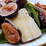 Greens with Figs and Brie