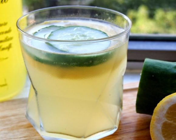 Limoncello Coconut Water Cocktail