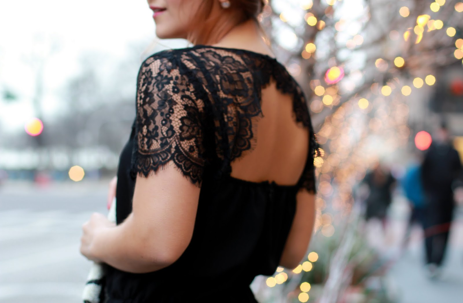 Loft Lace Jumpsuit - Chicago Blogger - Lake Shore Lady