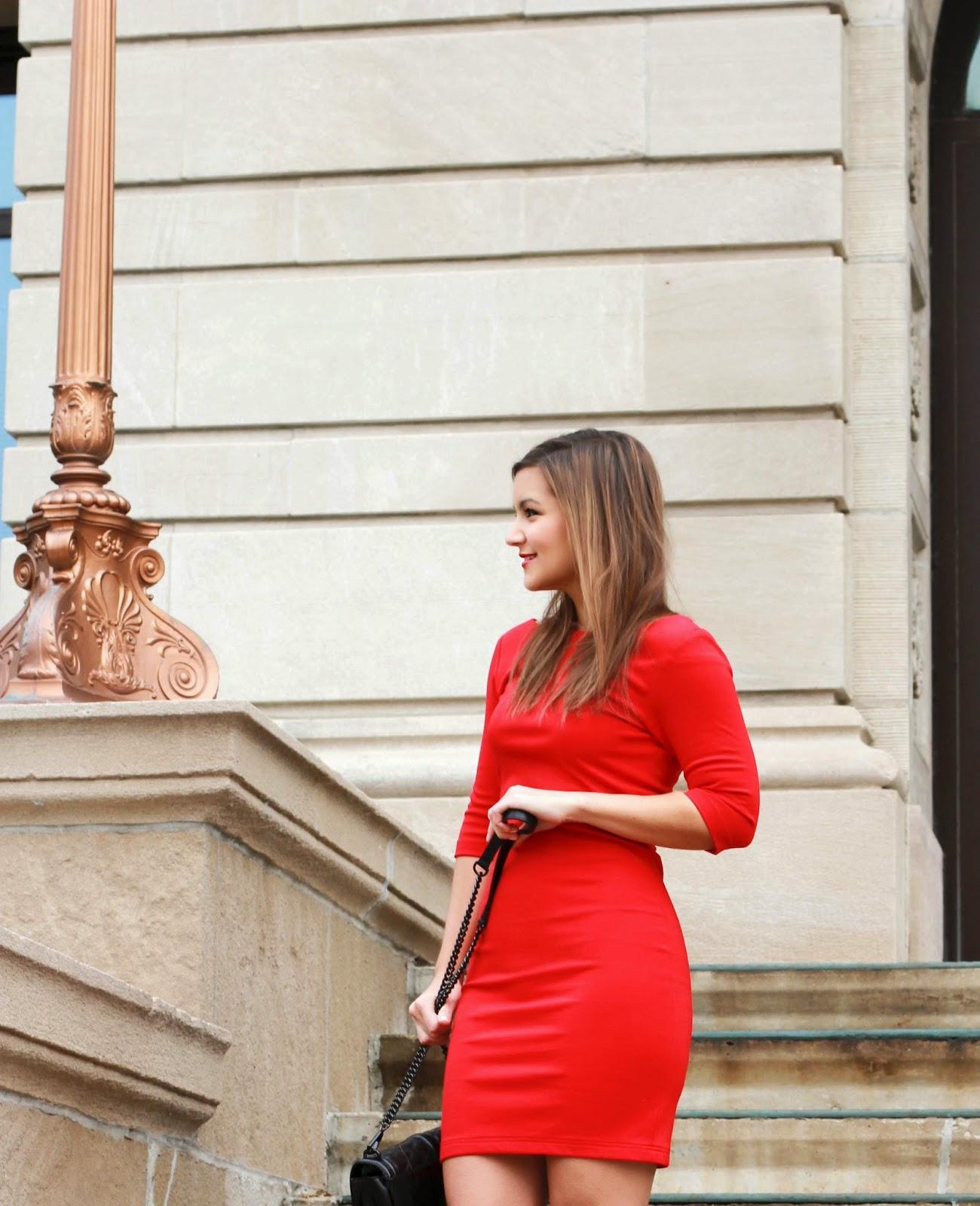 Amanda Uprichard Red Dress