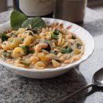 Tomato-Less Pasta Fagioli