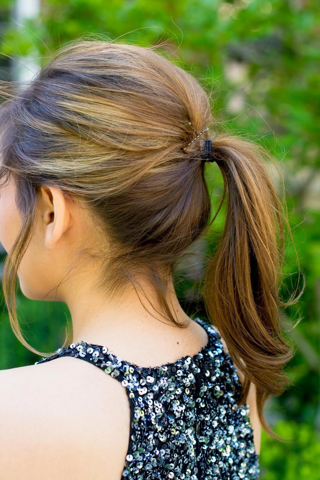 Ponytail With Volume Hairstyleg Lake Shore Lady