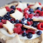 4th of July Fruit Tart