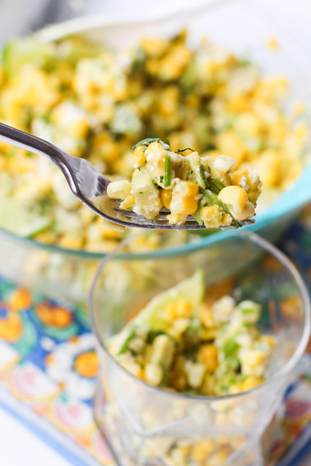 Herbed Corn And Avocado Salad Lake Shore Lady