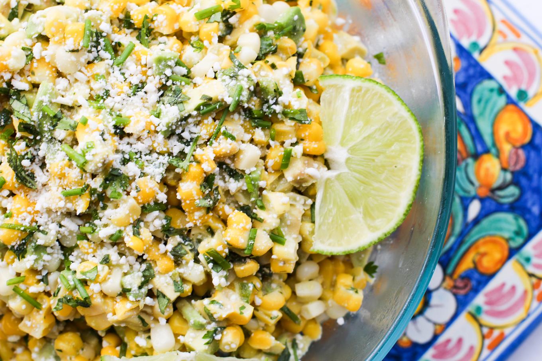 Herbed Corn Salad