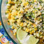 Herbed Corn and Avocado Salad