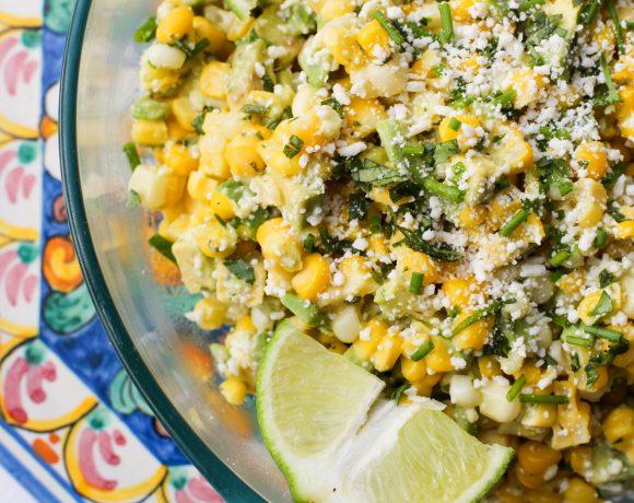 Herbed Corn and Avocado Salad