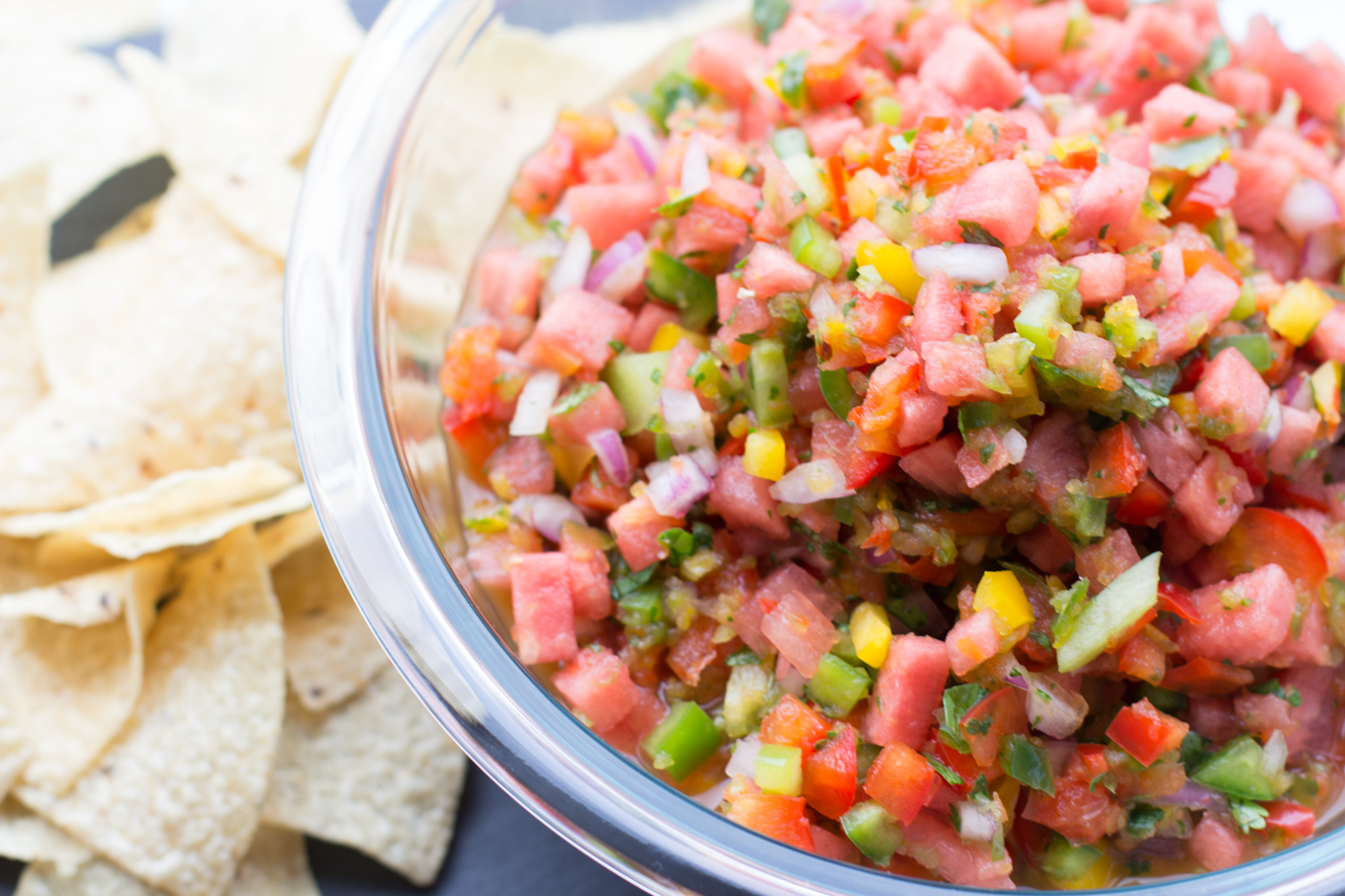 Watermelon Salsa - Lake Shore Lady