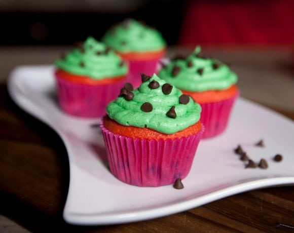 Watermelon Cupcakes [Video]