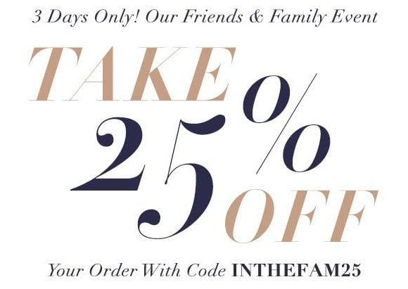 Shopbop Friends & Family