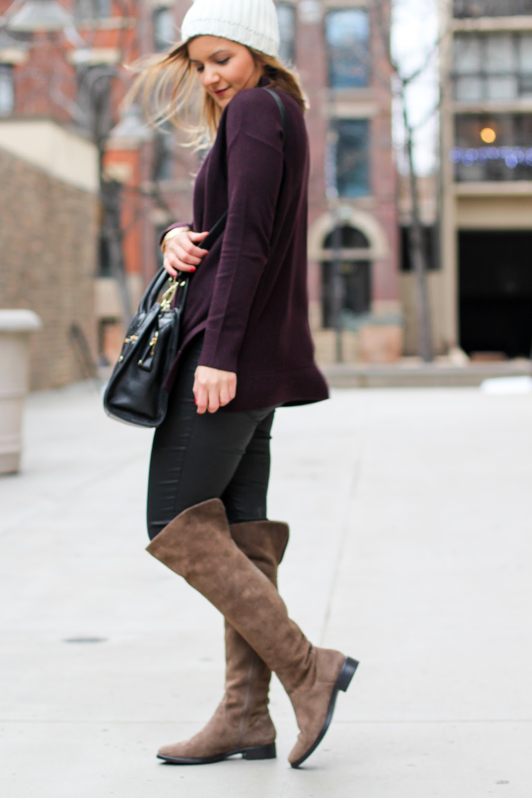 Suede Otk Boots Lake Shore Lady