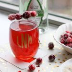Cranberry Tequila Cocktail with Sugared Cranberries