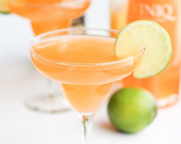 National Margarita Day: Spicy Mango & Peach Viniq Marg