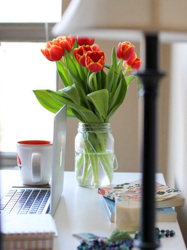 tulips-in-mason-jars