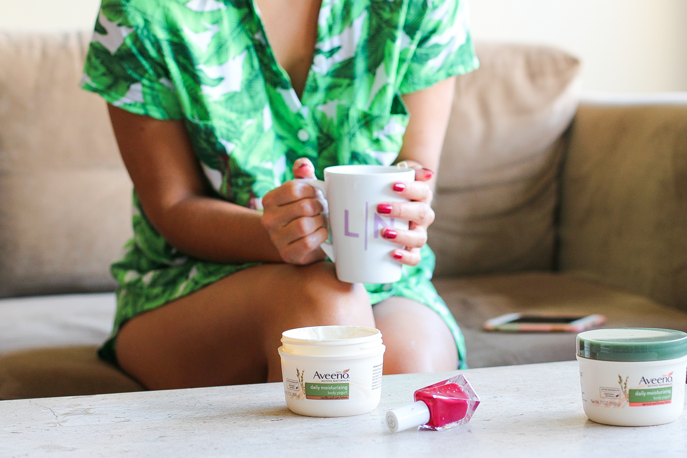 'Me Time' with Aveeno [+ a playlist!] - Lake Shore Lady