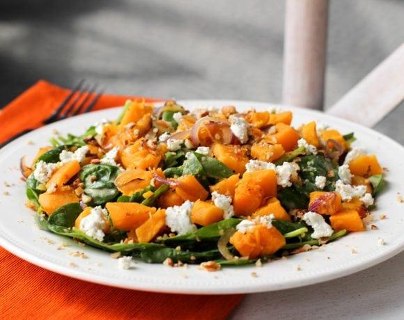 A Day with O Organics® + Fall Squash Salad Recipe