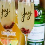 Tangerine Lemonade Gin Fizz #MixedWithTrop