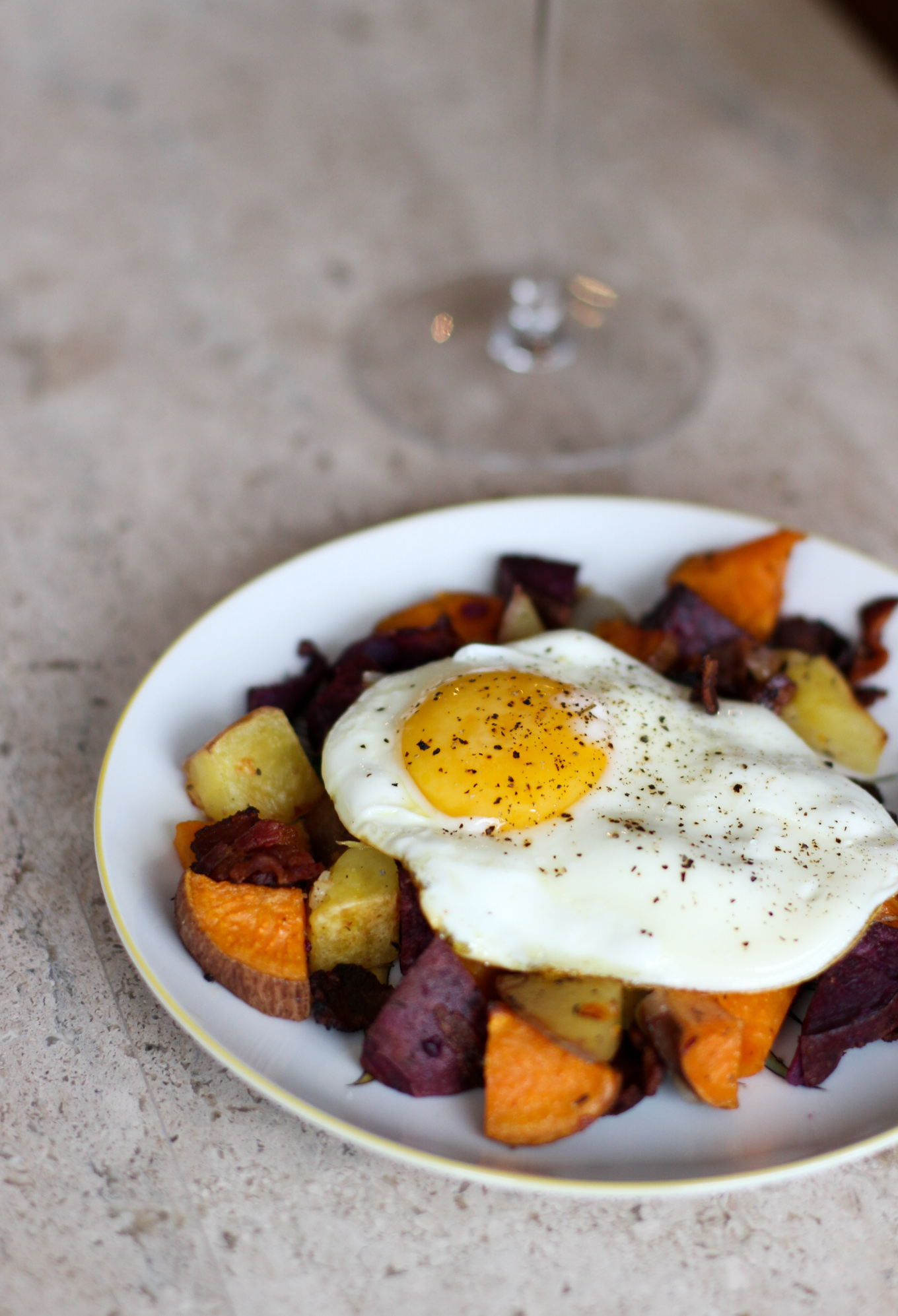 Colorful Potato Hash - Lake Shore Lady