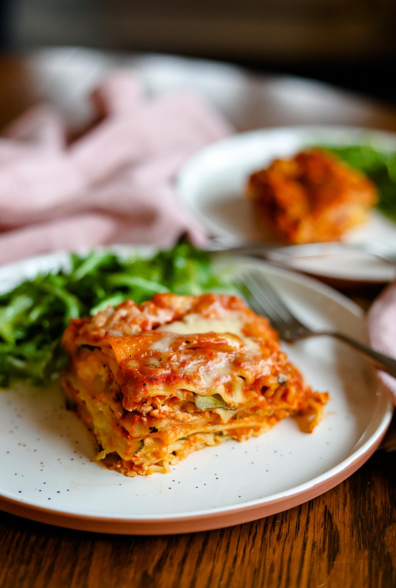 no meat Crock Pot Lasagna