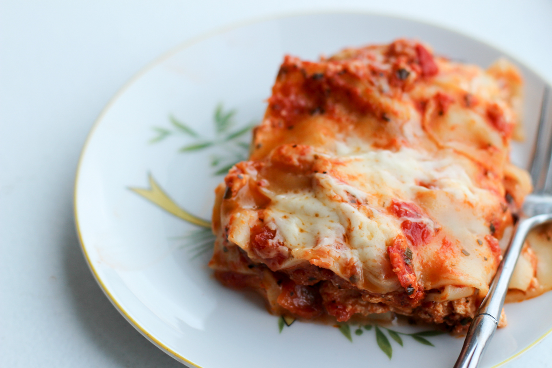 Crock Pot Lasagna with Zucchini - Lake Shore Lady