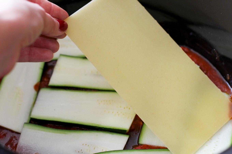 layer of lasagna sheets