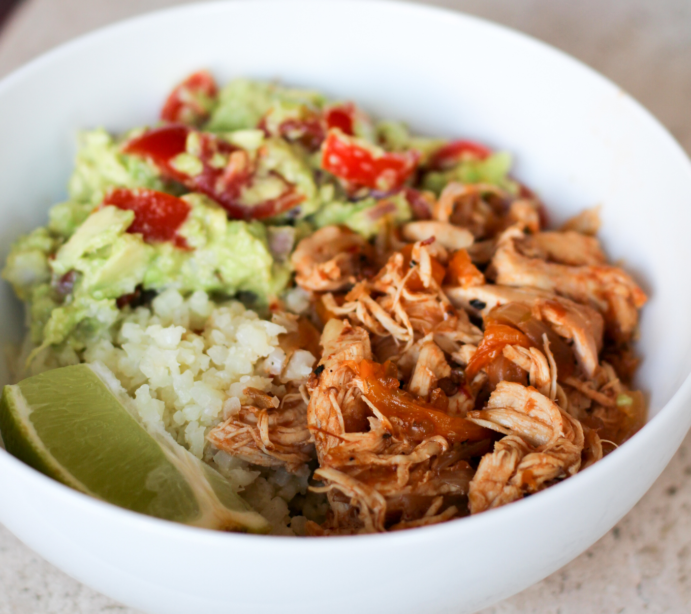 Healthy Chicken Taco Bowl (Whole30!)