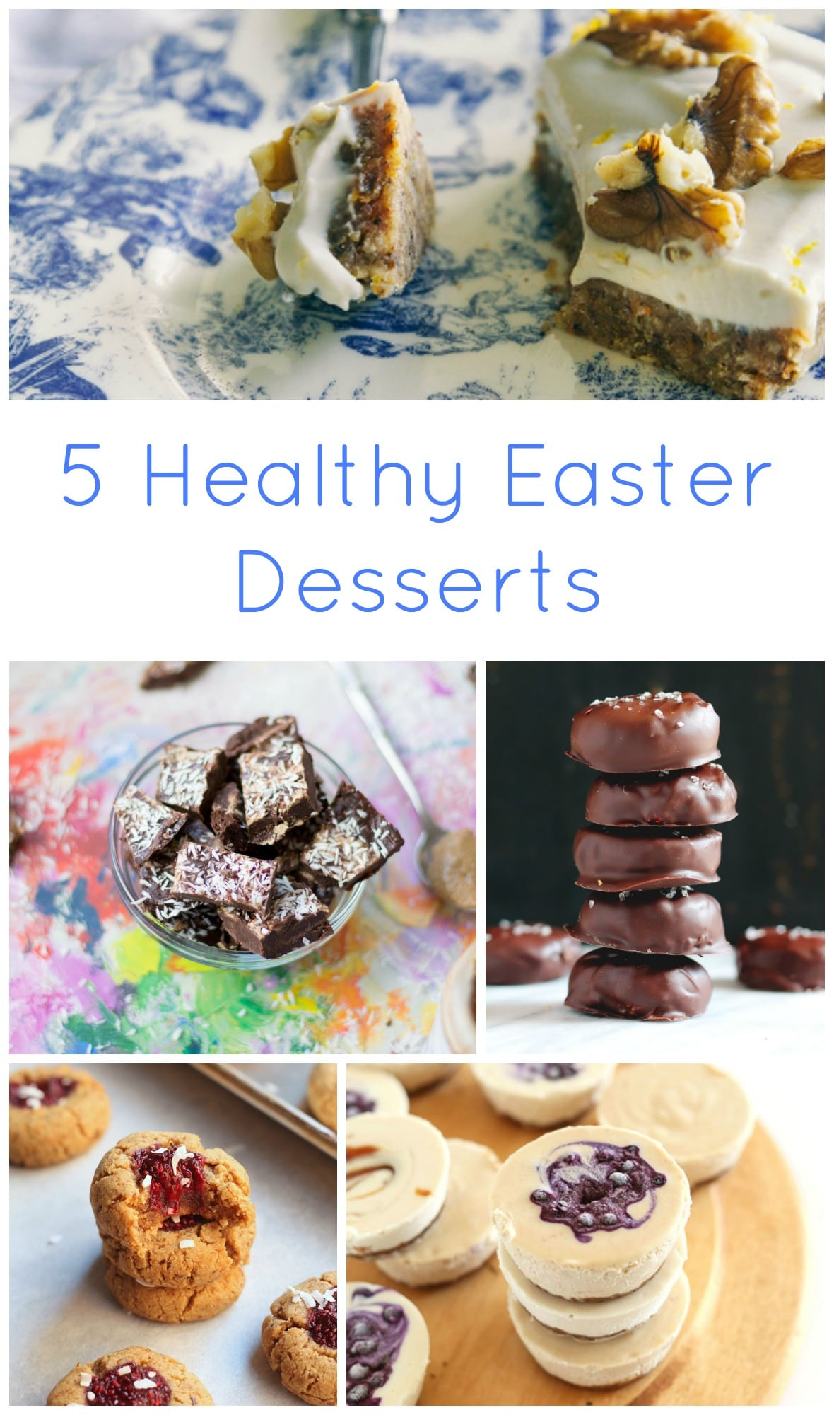 5 Healthy Easter Desserts - Lake Shore Lady