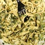 Homemade Fettuccini and Pesto with Fabio Viviani