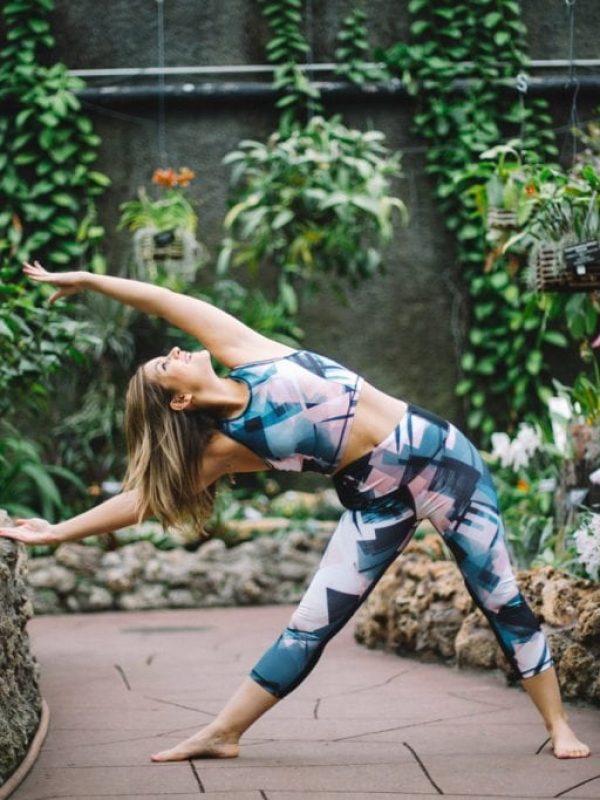 Let's Talk Body Image - Lake Shore Lady | Triangle Pose | Yoga