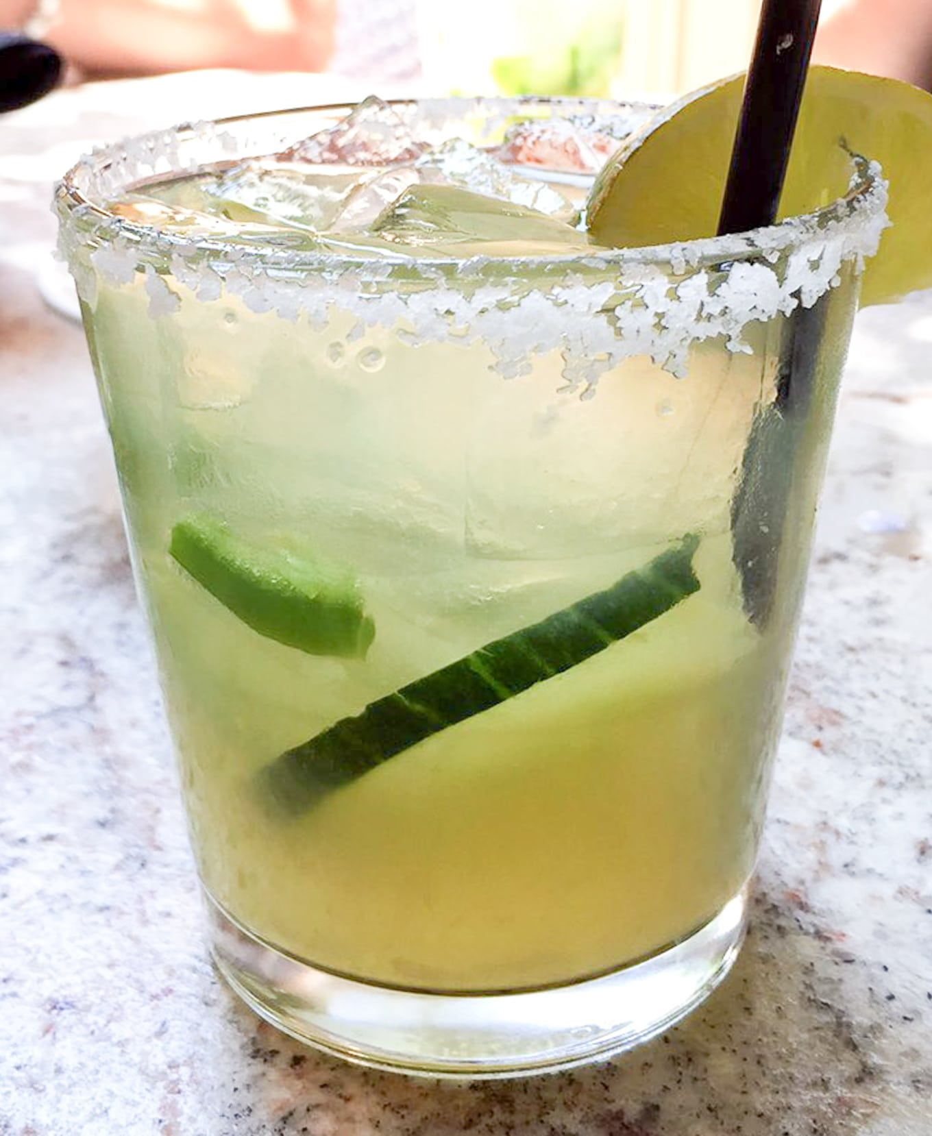 Cucumber Jalapeno Margarita - The Mission Old Town Scottsdale | Lake Shore Lady