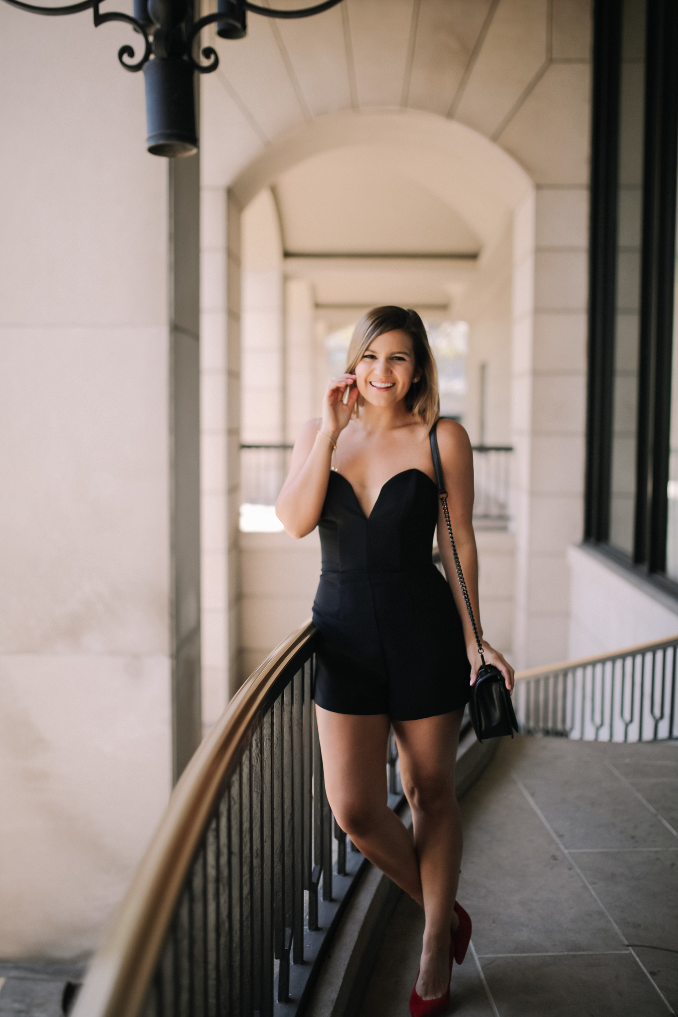 Lake Shore Lady's 30th Birthday Outfit | AU Black Romper
