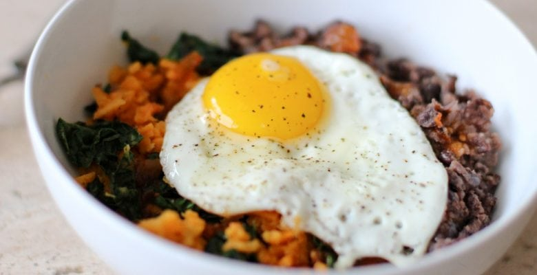Plant Based Breakfast Bowl with Corepower Yoga