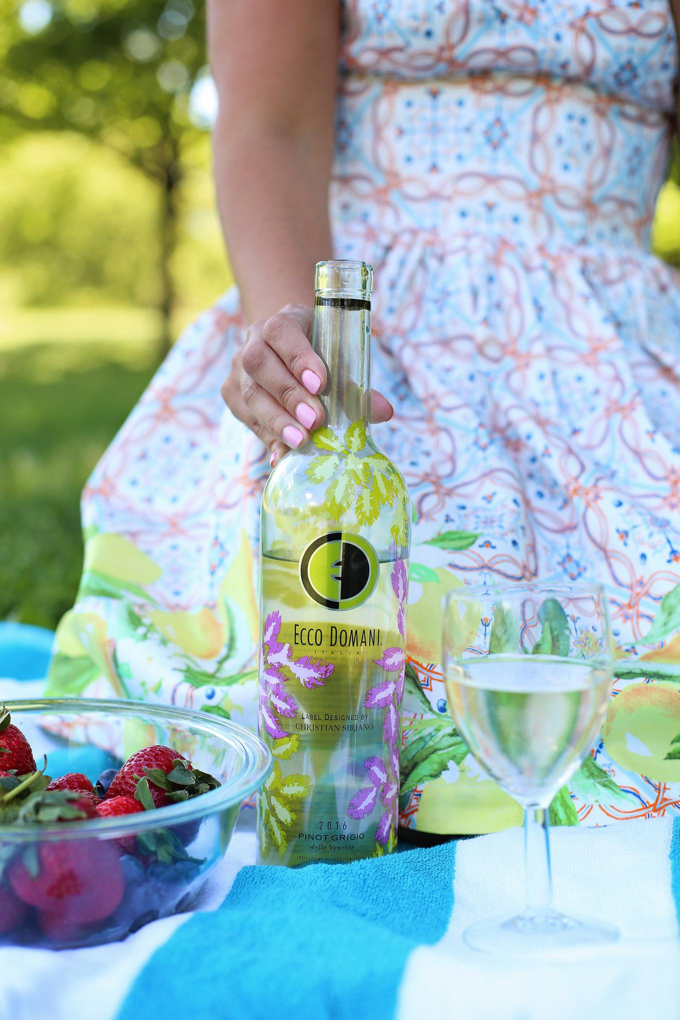 Ecco Domani x Christian Siriano Pinot Grigio + the cutest Lemon Print Dress - Lake Shore Lady